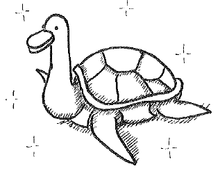 If you put cotton wool in your ears, 'doctoral' almost sounds like 'duck turtle'